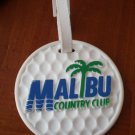 Golf Bag Tag Malibu Country Club California Protag Ken Domino