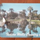 Golf Bag Tag Indian Wells Country Club California