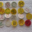 Lot 20 Silly Funny Joke Golf Ball Markers Vintage Marker