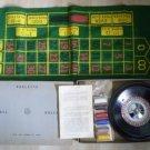 Royal Brand Roulette Wheel Chips Balls Felt Vintage A&L
