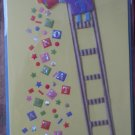 Greeting Card Congratulations Paper Magic Group Ladder Confetti 3D