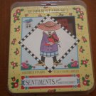Mary Engelbreit Rubber Stamp Set Foam Sentiments 2030R 1994 ME Ink 5pc