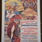 Arrco Playing Cards Grande Arena Eden Varieta Poster