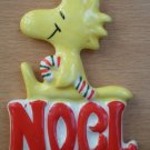 Vintage Woodstock Ornament Peanuts UFS Noel c1965 Japan