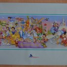 Walt Disney World Remember The Magic Poster 1996 25th Anniversary