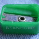 Stanhome Pencil Sharpener Green Vintage Plastic 526 35 SP