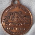 Souvenir Coin Mount Evans Guest House Copper Vintage 14260 ft Colorado CO Charm