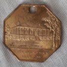 Souvenir Coin Beauvoir House Jefferson Davis Shrine Biloxi Miss Good Luck Charm