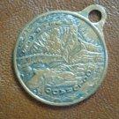 Seven Falls Colorado Charm Pendant Souvenir Coin Copper