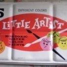 Water Color Vintage England Little Artist Tin Box 45