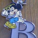 Vintage Disney Keychain Mickey Mouse Monogram B