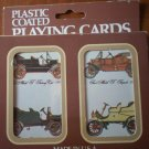 Ford Motel T Vintage Playing Cards 2 Decks Sealed US Playing Card Plastic 2524