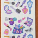 Sandylion Stickers Vanity Items Brush Mirror Perfume Makeup Nail color Prismatic