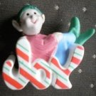 Hallmark Merry Miniature Joy Elf Ornament 1989