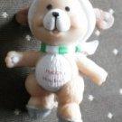 Russ Happy Holidays Puppy Dog Figurine Mini