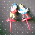 Cake Decorating Picks Dwarf Elf Lot 2 Germany Pics