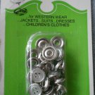 Risdon Deco Snaps Buttons 7sets/package vintage 1790