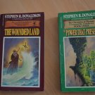 Lot 2 Stephen Donaldson PB Chronicles Thomas Covenant Wounded Land Power That Preserves