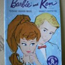 Barbie Ken Fashion Booklet Blue Mattel Vintage
