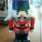 Wood Nutcracker JC Penney 6.5 Inch Christmas Soldier Box