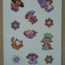 Kids Stickers Calico Crossings 1983 Current 2 Sheets Vintage