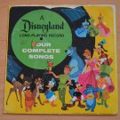 Disneyland Babes in Toyland Long Playing Record 33 1/3 rpm Walt Disney 4 songs