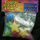 Goofy Sea Life Lights String Starfish Crab Fish Octopus