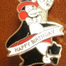 Birthday Pin Penguin Fame City Enamel Metal Pinnacle Design