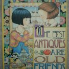 Mary Engelbreit Magnet Wood Best Antiques Are Old Friends Punch Studio ME Ink