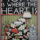 Mary Engelbreit Magnet Wood Melissa Neufeld ME Ink Home Is Where The Heart Is
