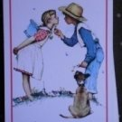 Norman Rockwell Hoyle Playing Cards Deck Girl Boy Dog