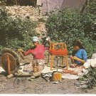 Ankara Istanbul Turkey Post Card 1986 Weaving Loom Ahmet