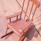 Mattel 1973 Brown Rocking Chair Sunshine Family Vintage