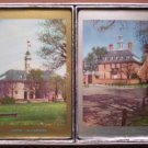 Congress Playing Cards Cel U Tone Sealed Williamsburg Capitol Governor's Palace 2 decks