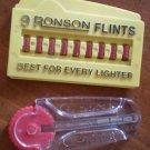Vintage Flint for Lighters Ronson Zippo Nine Flinter