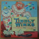 Tiddly Winks Game Clown Whitman 1958 4402-29 Chips Vintage Board Toy