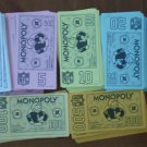 Monopoly NFL 1998 Money Collector's Edition Limited Bills Cash