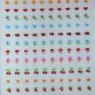 Fingernail and Body Decals Ambassador Super Stickers Hallmark 1983 NOS