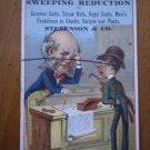 Stevenson and Co Vintage trade trading card Store