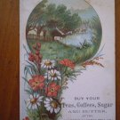 Western Pacific Tea Co. vintage trade trading card