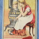 Trade Card Modern Cinderella Rising Sun Stove Polish