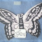 Butterfly Trade Card Welcome Soap Vintage Trading