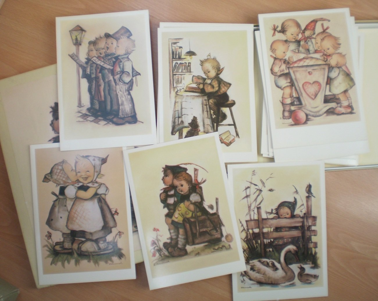 Hummel Note Cards Stationery 1982 ars Edition Boxed Set