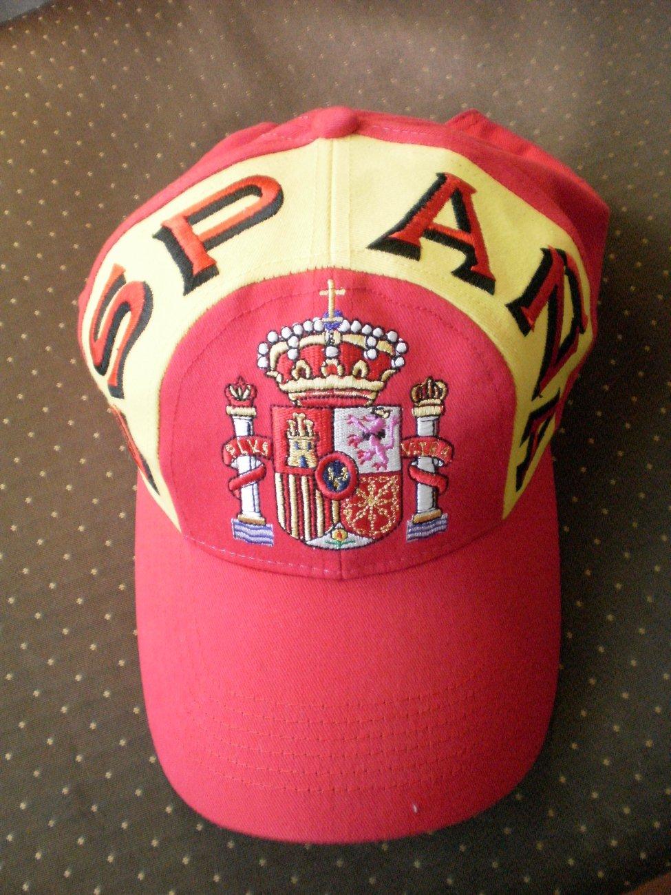 Baseball Hat Cap Espana Spain Red Yellow 58cm Royalty