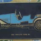 1926 Bugatti Type 30 Frank Down Plaque Plate Decor Vintage