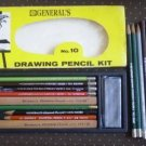 General Kimberly Drawing Pencils Mixed Lot Kit 10
