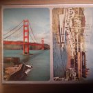 California Souvenir Playing Cards Golden Gate Bridge Wharf 2