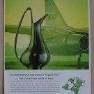 SAS Scandinavian Koppel Silver Pitcher Ad 1963 Georg Jensen