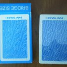 Pan Am Playing Cards Vintage Bridge Size New Deck PanAm