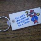 Vintage Arizona Lottery Keychain Key Chain Prospector Miner